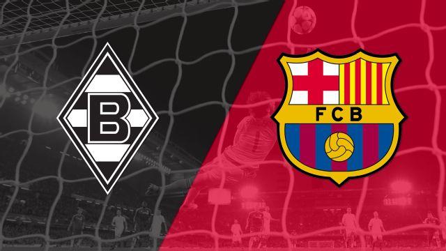 In Spanish - Borussia Monchengladbach vs. Barcelona (Fase de grupos) (UEFA Champions League)