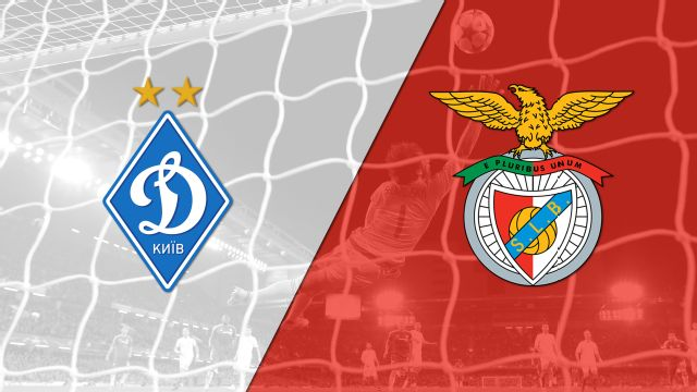 In Spanish - Dynamo Kiev vs. Benfica (Fase de grupos) (UEFA Champions League) (re-air)