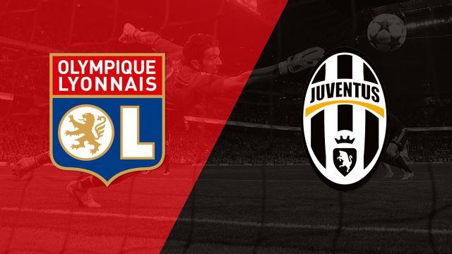 In Spanish - Olympic Lyon vs. Juventus (Fase de grupos) (UEFA Champions League) (re-air)