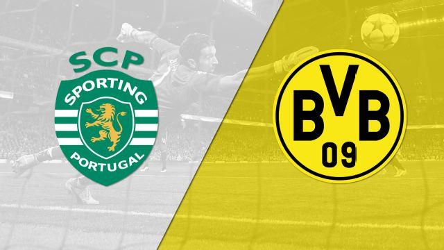 In Spanish - Sporting Clube de Portugal vs. Borussia Dortmund (UEFA Champions League) (re-air)