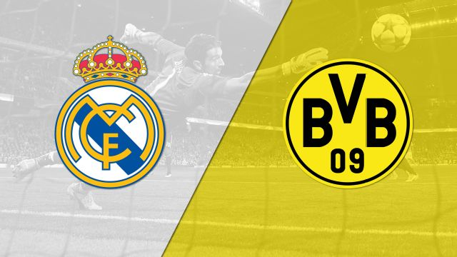 In Spanish - Real Madrid vs. Borussia Dortmund (UEFA Champions League)