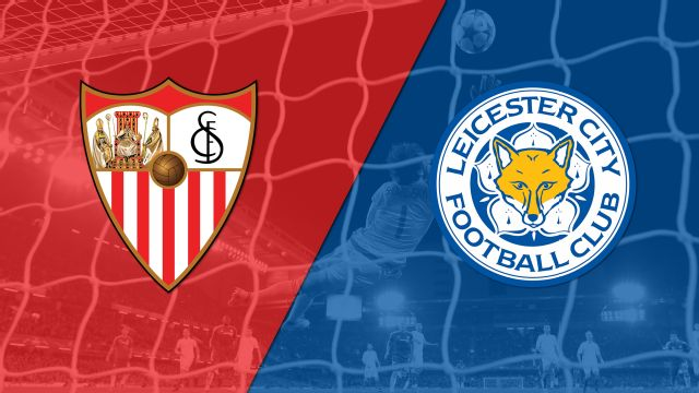 In Spanish - Sevilla vs. Leicester City (1st Knockout Round 1) (UEFA Champions League) (re-air)