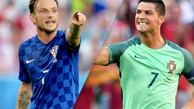 Croatia vs. Portugal (Round of 16) UEFA EURO 2016