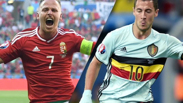 Hungary vs. Belgium (Round of 16) UEFA EURO 2016