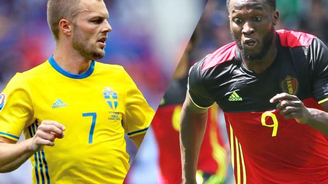In Spanish - Suecia vs. Belgica (Fase de grupos) UEFA EURO 2016