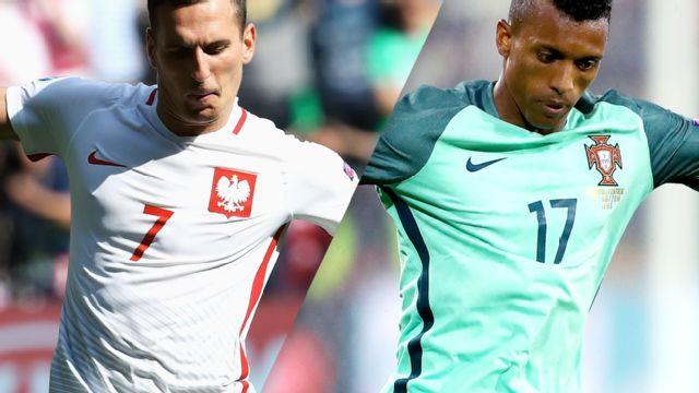 In Spanish - Polonia vs. Portugal (Cuartos de Final) UEFA EURO 2016