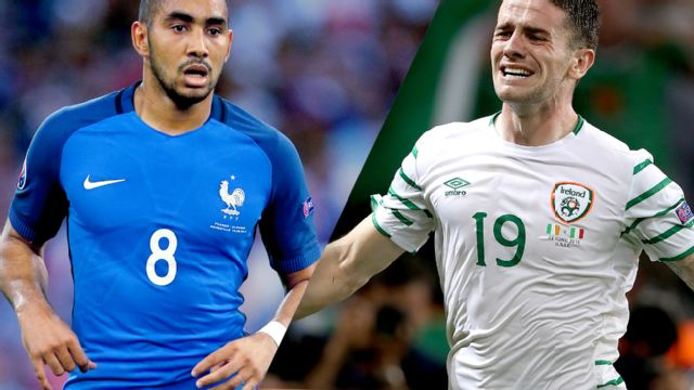 France vs. Republic of Ireland (Round of 16) UEFA EURO 2016 (re-air)