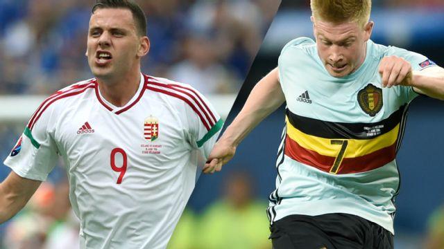 In Spanish - Hungria vs. Belgica (Round of 16) UEFA EURO 2016 (re-air)