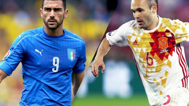 In Spanish - Italia vs. Espa�a (Round of 16) UEFA EURO 2016
