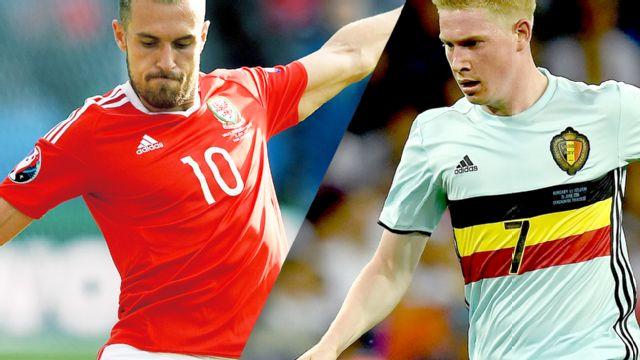 In Spanish - Gales vs. Belgica (Cuartos de Final) UEFA EURO 2016
