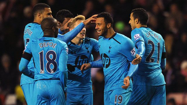 Tottenham vs. Anzhi (SPA)