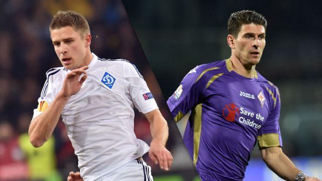In Spanish - FC Dynamo Kyiv vs. Fiorentina (Cuartos de Final, Partido de Ida) (UEFA Europa League) (re-air)