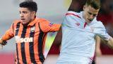In Spanish - Shakhtar Donetsk vs. Sevilla (Semifinal - Partido de Ida) (UEFA Europa League)