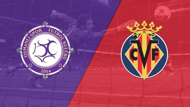 In Spanish - Osmanlispor A.S. vs. Villarreal CF (Fase de Grupos) (UEFA Europa League) (re-air)