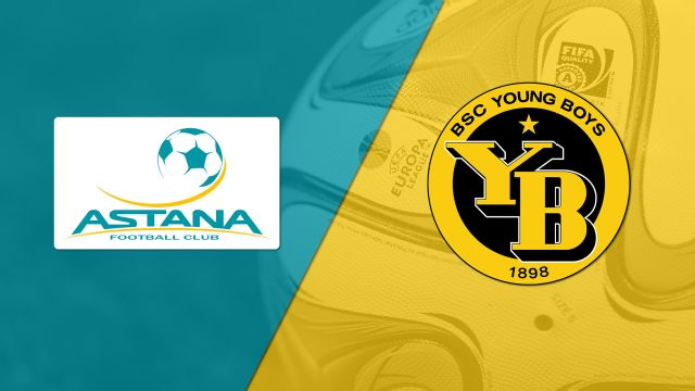 In Spanish - Astana vs. Young Boys (UEFA Europa League)