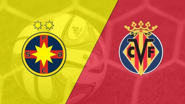 In Spanish - Steaua Bucuresti vs. Villarreal (Fase de grupos) (UEFA Europa League)