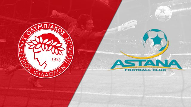 In Spanish - Olympiacos FC vs. FC Astana (Fase de grupos) (UEFA Europa League)