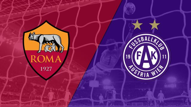 In Spanish - AS Roma vs. Austria Wien (Fase de grupos) (UEFA Europa League)
