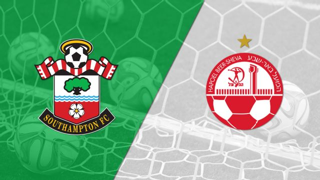 In Spanish - Southampton vs. Hapoel Be'er Sheva (Fase de grupos) (UEFA Europa League)