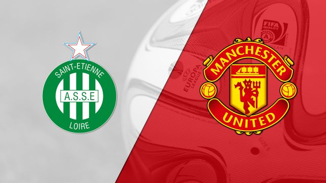 In Spanish - Saint Etienne vs. Manchester United (Round of 32, Second Leg) (UEFA Europa League)