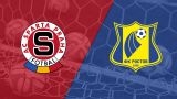 In Spanish - Sparta Praha vs. Rostov (1/16 de Final) (UEFA Europa League)