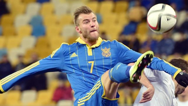 Ukraine vs. Belarus (UEFA Euro 2016 Qualifier)