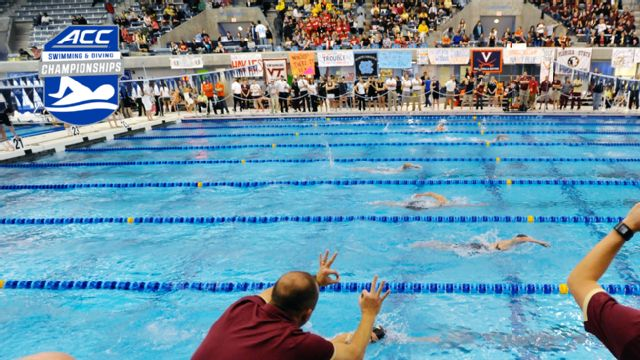 ACC Men's Swimming & Diving Championship (Day 3)