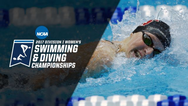 2017 NCAA Women's Swimming & Diving Championships Presented by Northwestern Mutual (Day 3)