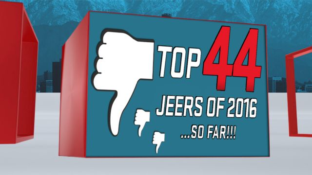 SportsNation: Jeers of the Year... So Far Presented by Toyota