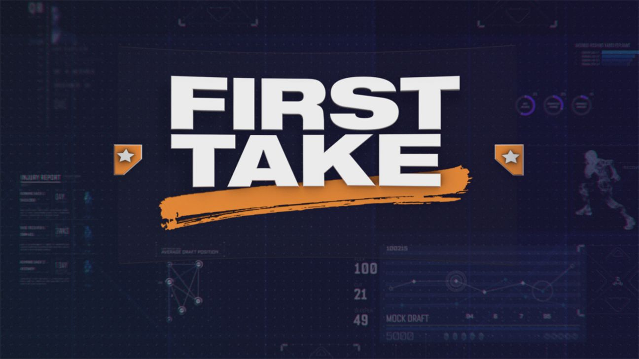 First Take as part of the ESPN Fantasy Football Marathon presented by