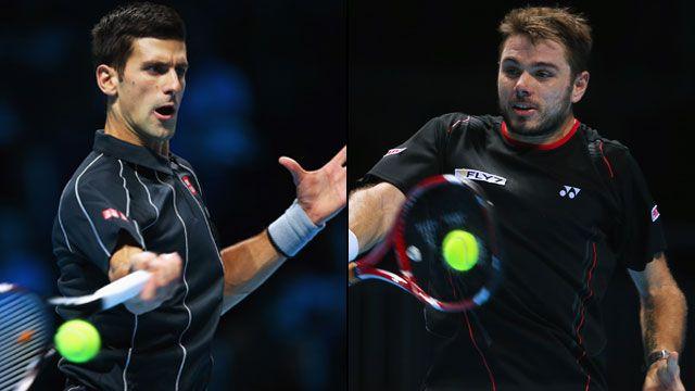 Novak Djokovic (SRB) vs. Stanislas Wawrinka (SUI) (Semifinal #2)