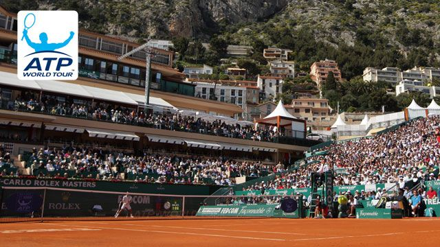 Monte-Carlo Rolex Masters - Court Central (Second Round)