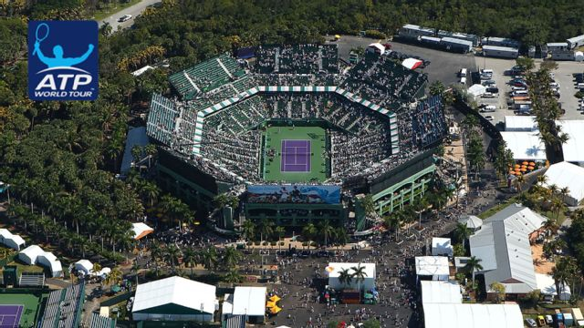 Miami Open presented by Ita� - Grandstand (Men's Round of 16)