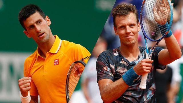 In Spanish - Novak Djokovic (SRB) vs. Tomas Berdych (CZE) (Final)