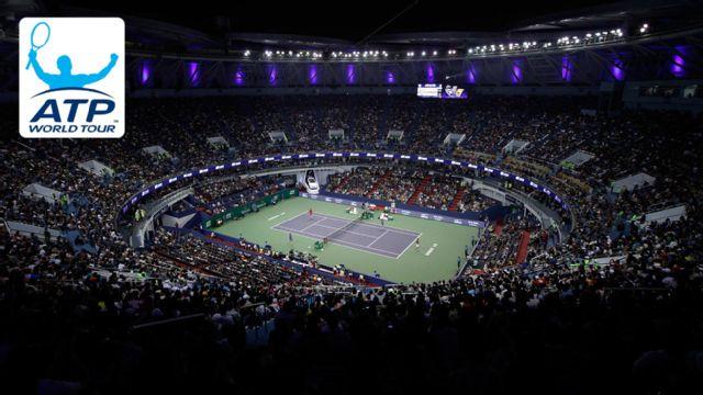 (6) K. Nishikori vs. N. Kyrgios - Shanghai Rolex Masters (Second Round)