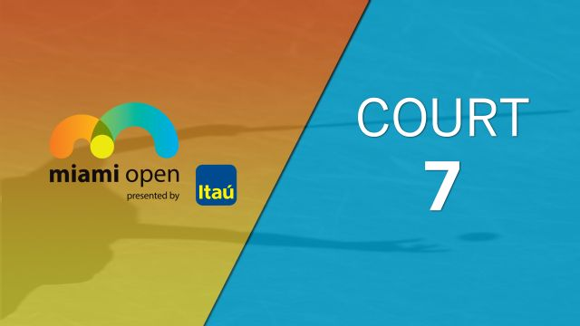 Miami Open - Court 7 (Doubles)