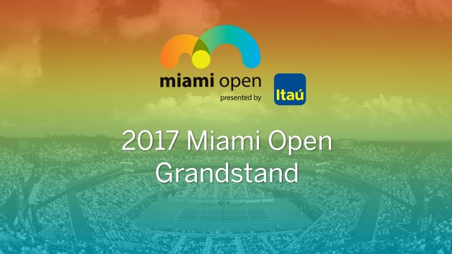 Miami Open - Grandstand (Doubles Semifinals)