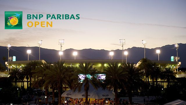 BNP Paribas Open 2014 - Stadium 1 (First Round)