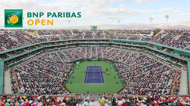 BNP Paribas Open 2014 - Stadium 1 (Men's Second Round/Women's Third Round)