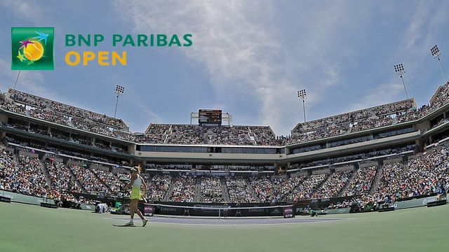 BNP Paribas Open 2014 - Stadium 3 (Third Round)