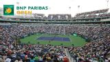 BNP Paribas Open 2014 - Stadium 2 (Men's Third Round/Women's Round of 16)