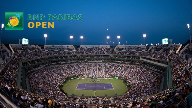 BNP Paribas Open 2014 - Stadium 1 (Men's Third Round/Women's Round of 16)