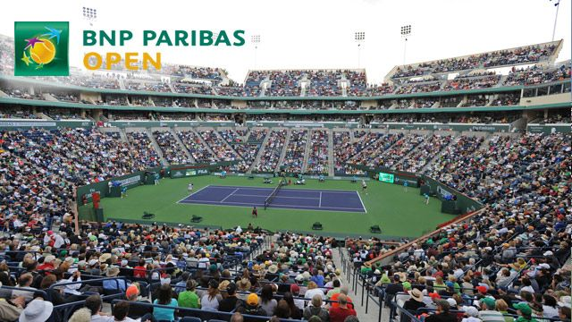 BNP Paribas Open 2014 - Stadium 2 (Men's Round of 16)