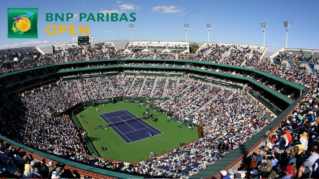 BNP Paribas Open 2014 - Stadium 1 (Quarterfinals)