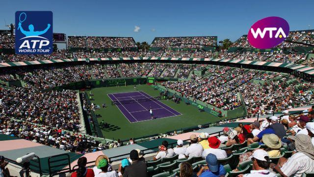 Miami Open presented by Itau (Women's Semifinal #1 & Men's Qtrfinal)