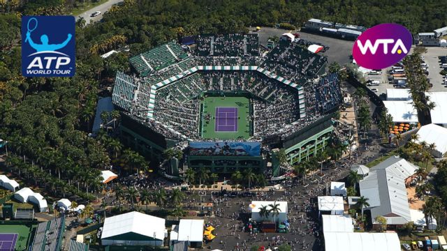 Miami Open presented by Ita� - Grandstand (Men's Third Round/Women's Round of 16)