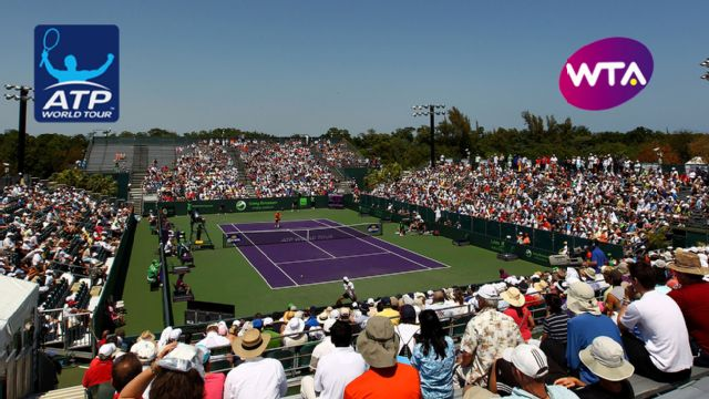 Miami Open presented by Ita� - Court 1 (Men's Third Round/Women's Round of 16)
