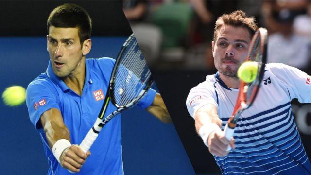 N. Djokovic (SRB) vs. S. Wawrinka (SUI) (Men's Semifinal #2)