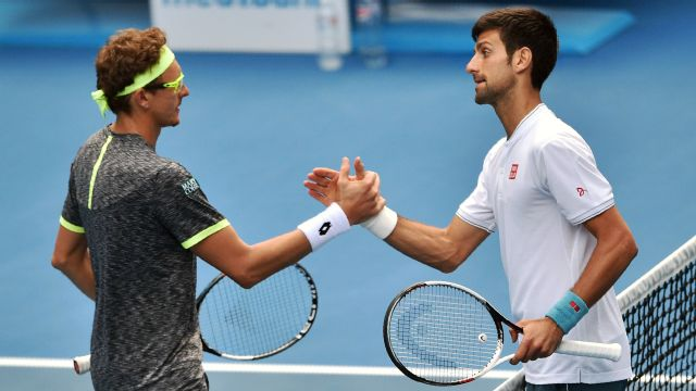 Replay - (2) N. Djokovic vs. D. Istomin (Men's Second Round)