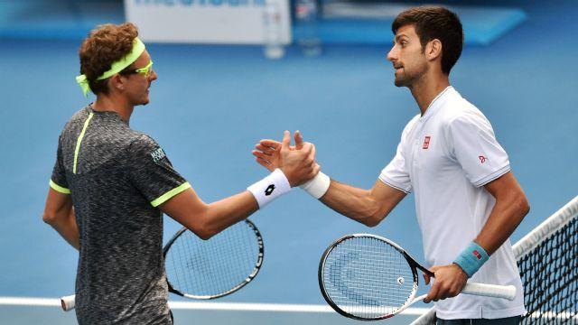 Replay - (2) N. Djokovic vs. D. Istomin (Men's Second Round)